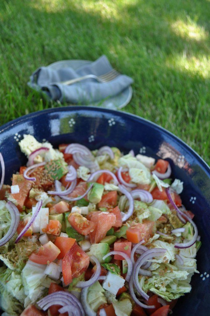 Salade printanière aux agrumes