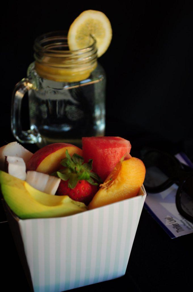 Fruits pour une séance de cinéma