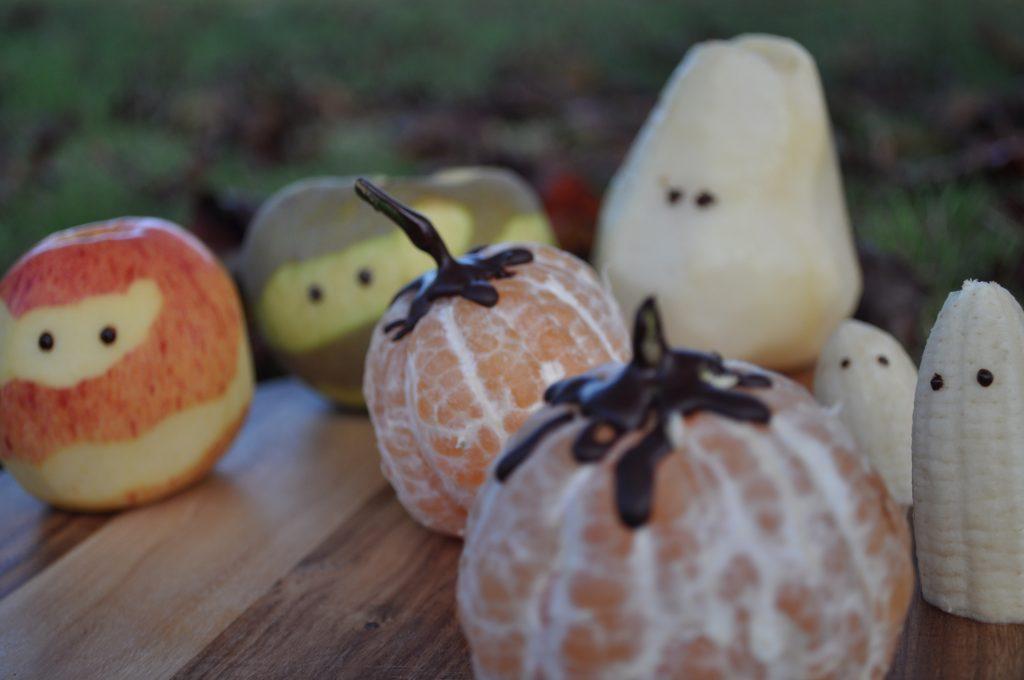Halloween : chaudron et potions, momies fruitées