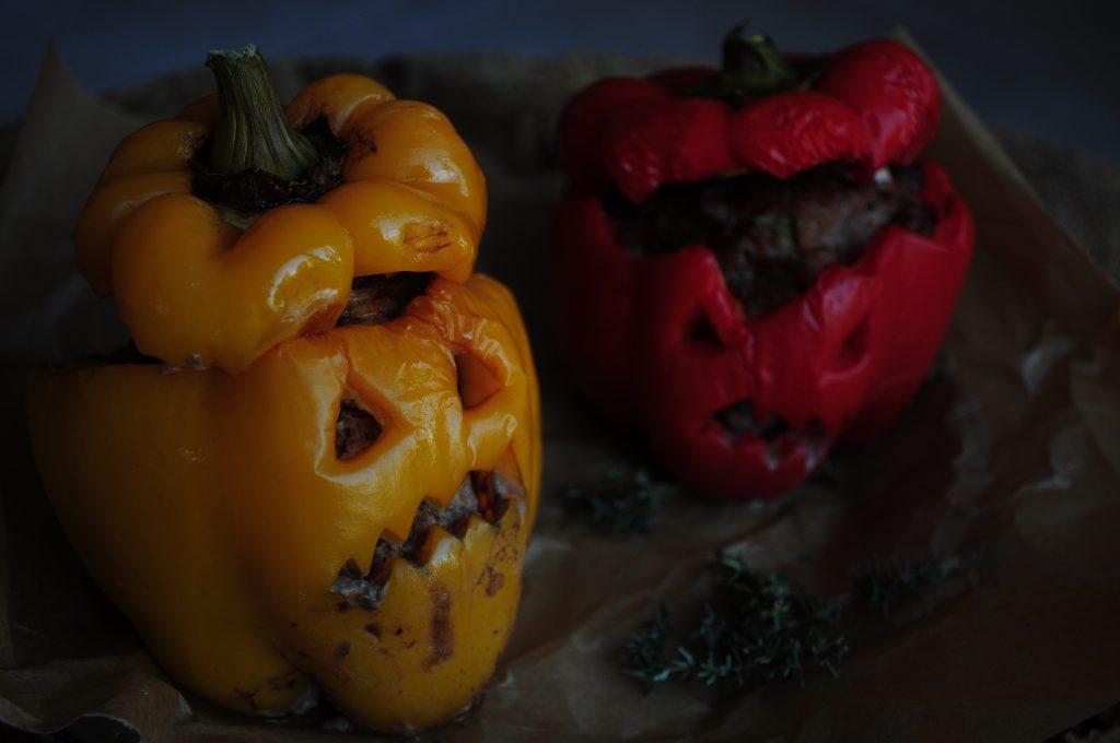 Halloween : chaudron et potions, farce et poivrons diaboliques